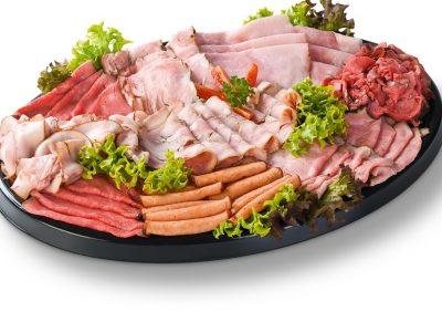 Luxe vleeswarenschotel Slagerij Bakkertje