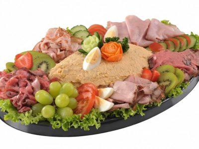 Salade & Vleeswarenschotel Vleessalade Slagerij Bakkertje